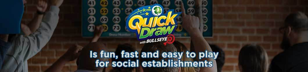 Quick Draw is fun, fast, and easy to play for social spaces