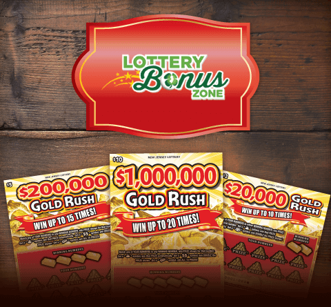 Lottery Bonus Zone - Gold Rush