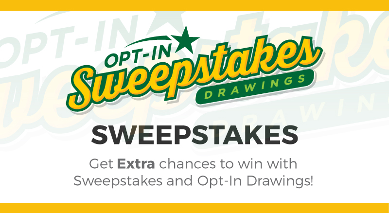 NJ Lottery | Opt-In Sweepstakes